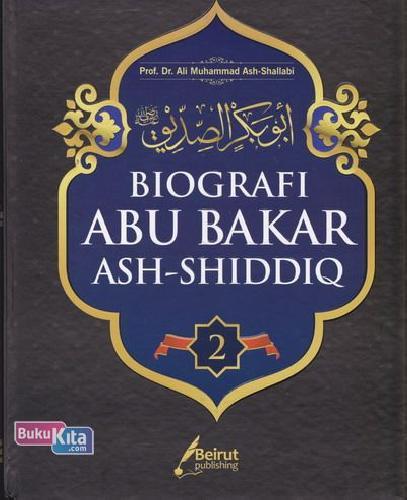 Cover Buku Biografi Abu Bakar Ash-Shiddiq 2