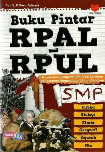 Cover Buku Buku Pintar RPAL dan RPUL SMP