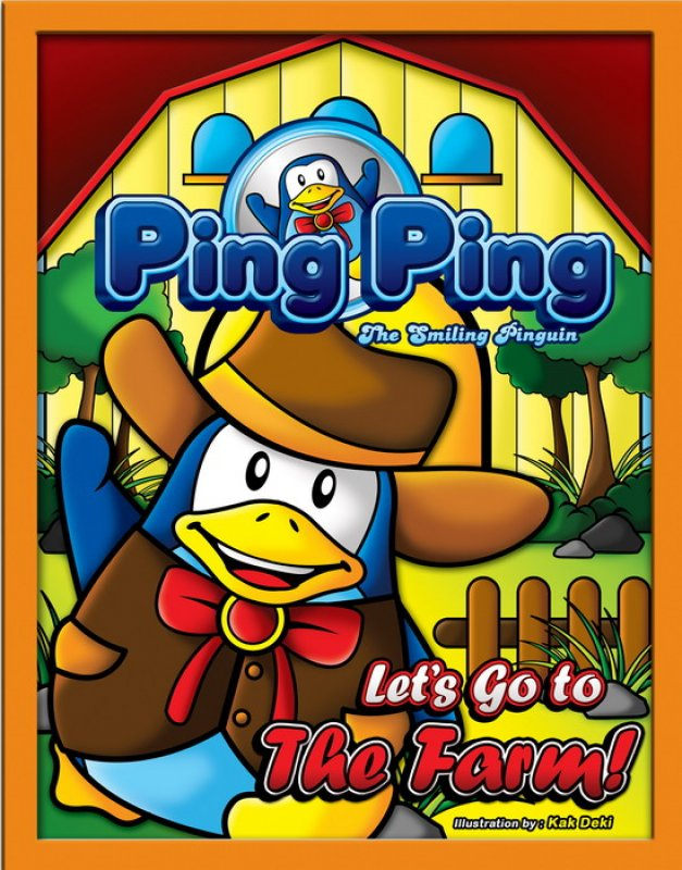 Cover Buku Ping Ping The Smiling Penguin : Let