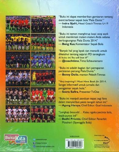 Cover Belakang Buku Buku Panduan Piala Dunia Brazil 2014