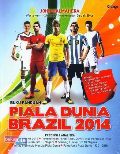 Cover Buku Buku Panduan Piala Dunia Brazil 2014