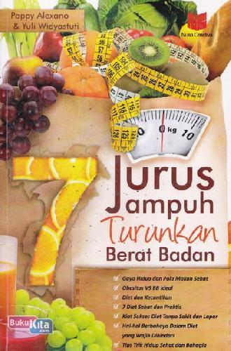 Cover Buku 7 Jurus Ampuh Turunkan Berat Badan