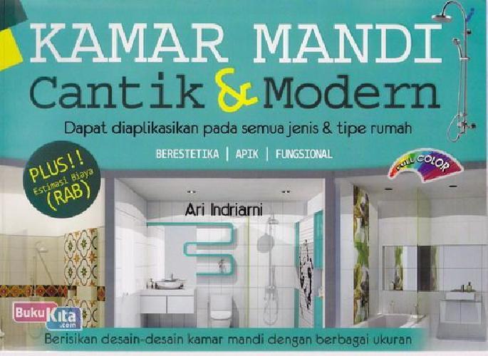 Cover Buku Kamar Mandi Cantik & Modern (Full Color)