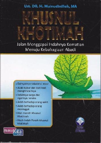 Cover Buku KHUSNUL KHOTIMAH