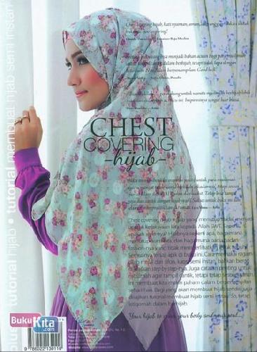 Cover Belakang Buku Chest Covering Hijab