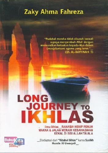Cover Buku Long journey To Ikhlas