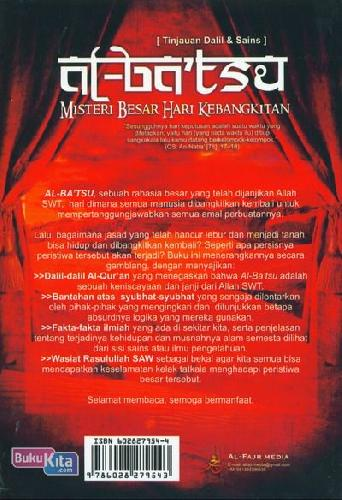 Cover Belakang Buku Al-Batsu Misteri Besar Hari Kebangkitan