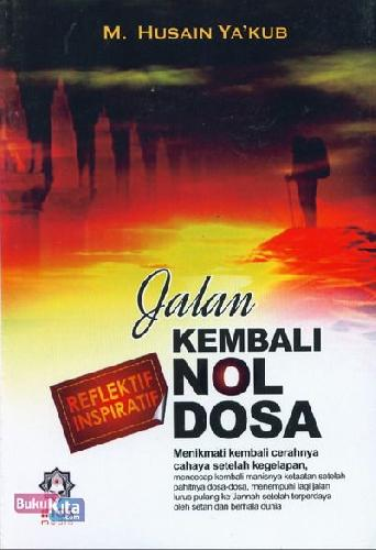 Cover Buku Jalan Kembali Nol Dosa