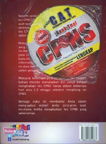 Cover Belakang Buku Bank Soal CPNS (Lengkap)
