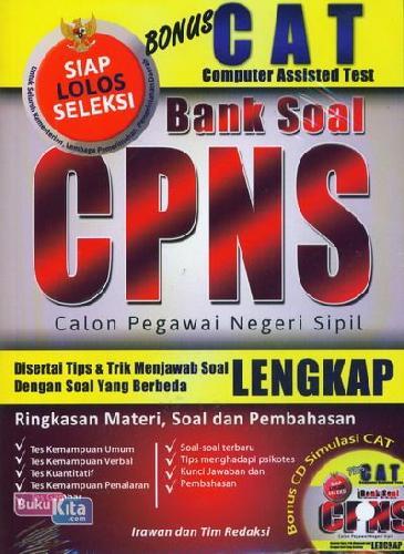 Cover Buku Bank Soal CPNS (Lengkap)