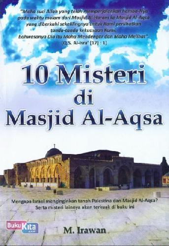Cover Buku 10 Misteri di Masjid Al-Aqsa
