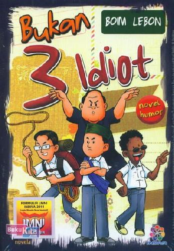 Cover Buku Bukan 3 Idiot
