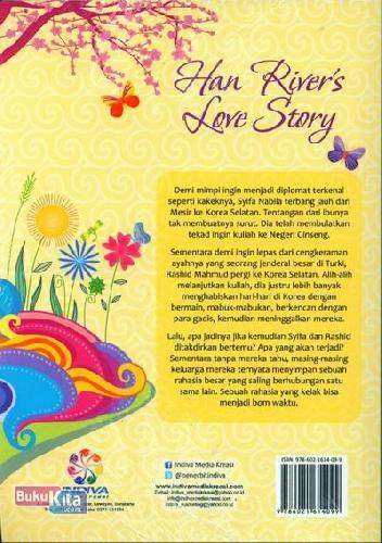 Cover Belakang Buku Han Rivers Love Story