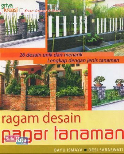 Cover Buku Ragam Desain Pagar Tanaman