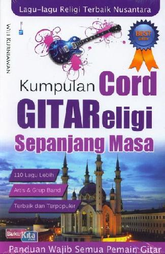 Cover Buku Kumpulan Cord Gitar Religi Sepanjang Masa