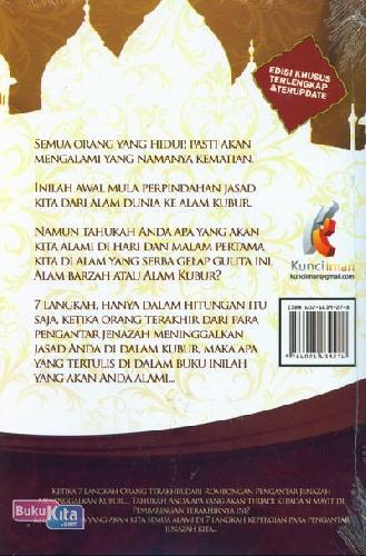 Cover Belakang Buku 7 Langkah Ketika Orang Terakhir Meninggalkan Kubur Berdasarkan Al-Quran dan As-Sunnah