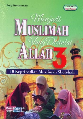 Cover Buku Menjadi Muslimah Yang Dicintai Allah 3