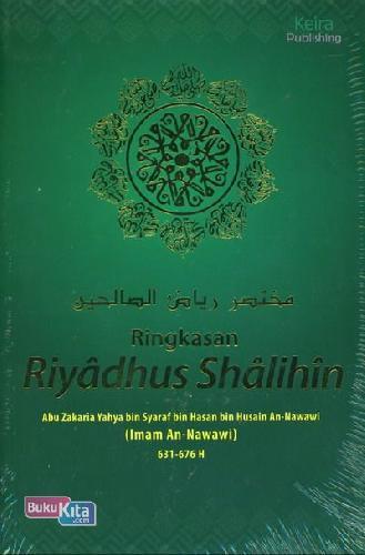 Cover Buku Ringkasan Riyadhus Shalihin