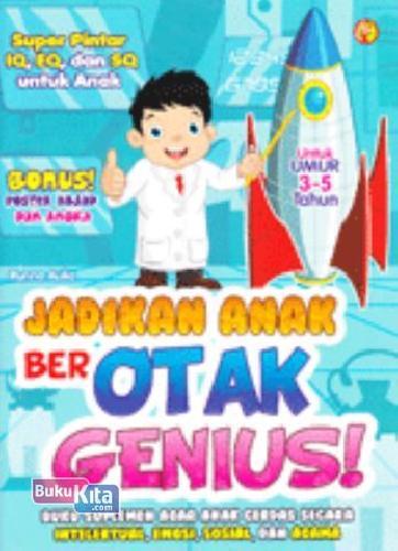 Cover Buku Jadikan Anak Berotak Genius!