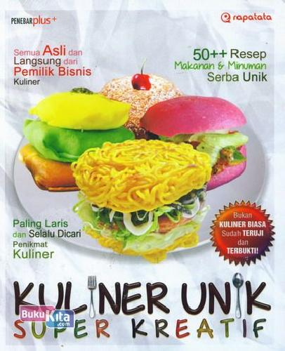 Cover Buku Kuliner Unik Super Kreatif