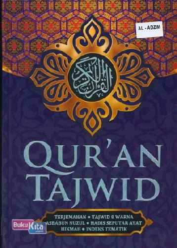 Cover Buku AL-ADZIIM - QUR