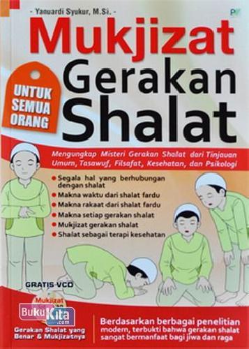 Cover Buku Mukjizat Gerakan Shalat Plus CD