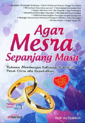 Cover Buku Agar Mesra Sepanjang Masa