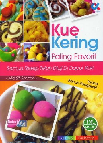 Cover Buku Kue Kering Paling Favorit
