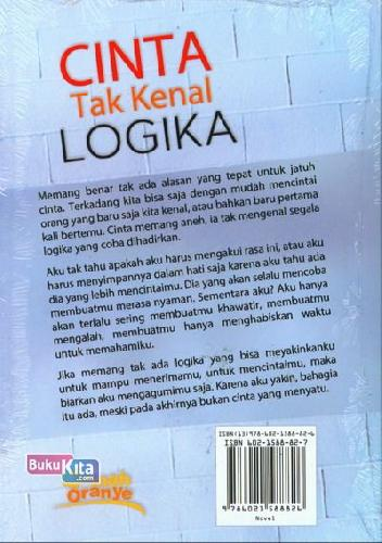 Cover Belakang Buku Cinta Tak Kenal Logika