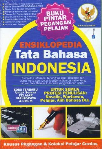 Cover Buku Ensiklopedia Tata Bahasa Indonesia