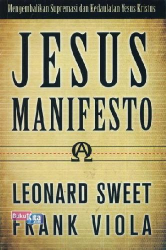 Cover Buku Jesus Manifesto
