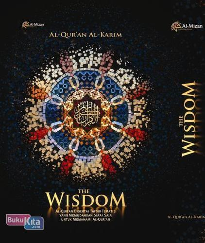 Cover Buku Al Quran Alkarim The Wisdom