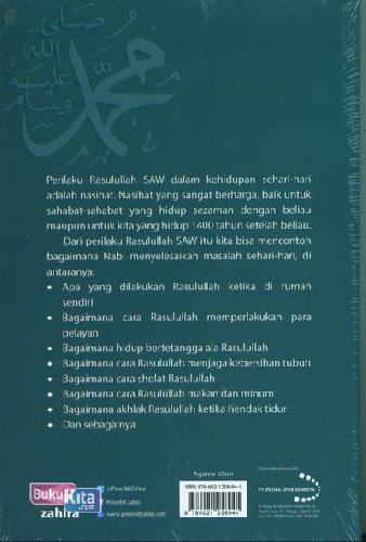 Cover Belakang Buku Nabi Muhammad Sehari-hari