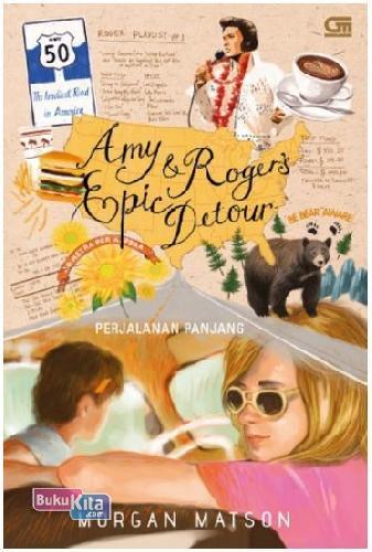 Cover Buku Perjalanan Panjang - Amy & Roger