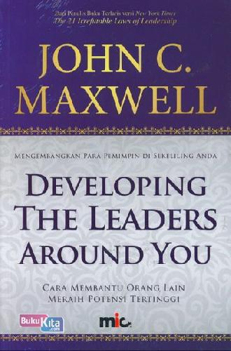 Cover Buku Developing The Leader Around You