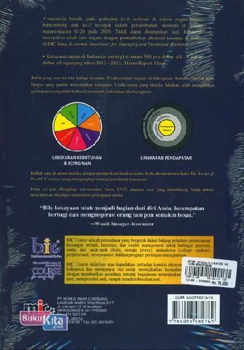 Cover Belakang Buku The Secret of Wealth Creation - Cara Mendapatkan Kekayaan Mulai Dari Nol