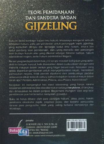 Cover Belakang Buku Teori Pemidnaan Dan Sandera Badan Gijzeling