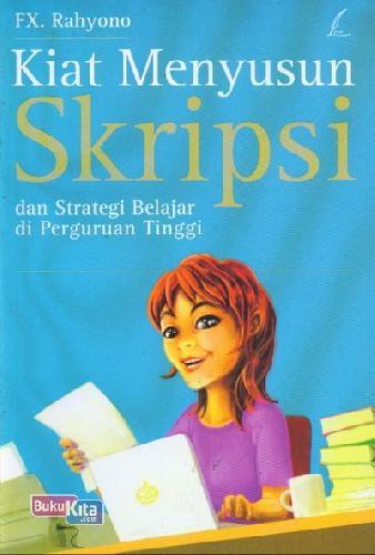 Cover Buku Kiat Menyusun Skripsi dan Strategi Belajar di Perguruan Tinggi