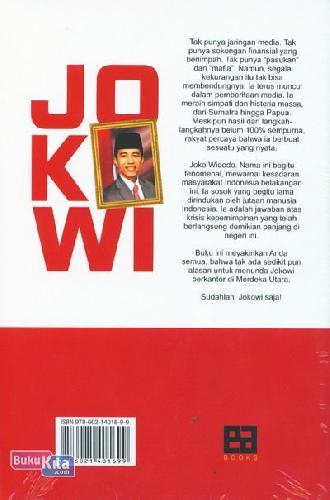 Cover Belakang Buku Rakyat Meminta Jokowi