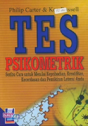 Cover Buku Tes psikometrik