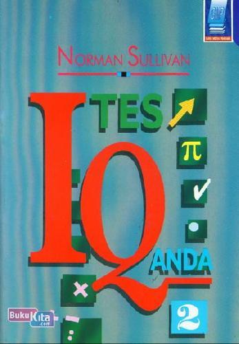 Cover Buku Tes IQ Anda 2