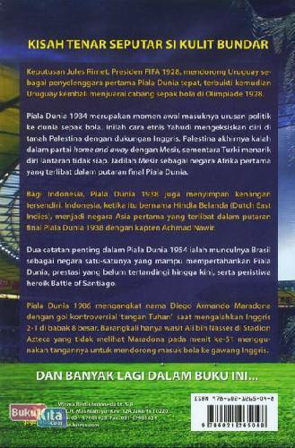 Cover Belakang Buku Para Jawara Piala Dunia