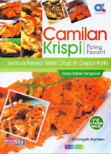 Cover Camilan Krispi Paling Favorit