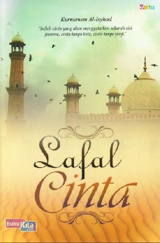 Cover Buku Lafal CInta