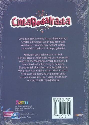 Cover Belakang Buku Cinta Beda Kasta