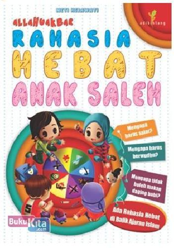 Cover Buku Allahuakbar : Rahasia Hebat Anak Saleh