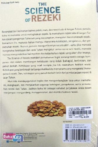 Cover Belakang Buku The Science of Rezeki