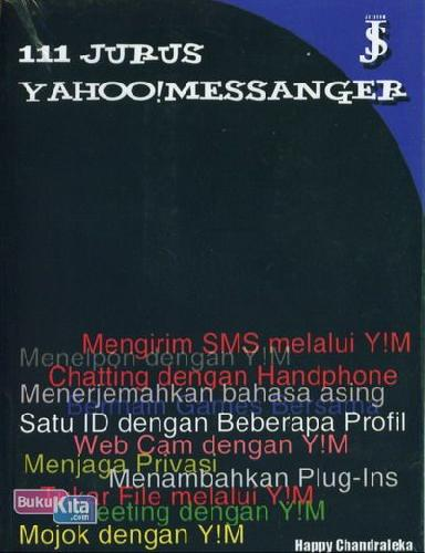 Cover Buku 111 Jurus Yahoo Messanger (Cover Baru)