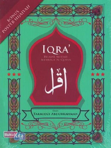 Cover Buku IQRA Belajar Mudah Membaca Al-Quran