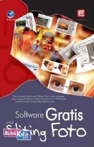 Cover Buku Software Gratis Untuk Editing Foto